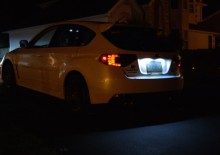 Lampa LED numar compatibila Renault Fluence 2009~