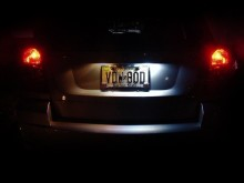 Lampa LED numar compatibila Renault Scenic 3 III 2009~