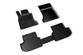Covoare / Covorase / Presuri cauciuc tip stil tavita BMW Seria 5 F10 PreFacelift fabricatie 2010-2013
