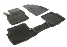 Covoare / Covorase / Presuri cauciuc tip stil tavita FORD FOCUS 2 II fabricatie 2004-2010