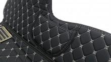 Covorase auto LUX - PIELE dedicate Mercedes S-Class scurt W222 2013-> ( cusatura bej )