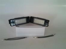 Lampa LED numar compatibila PEUGEOT 207 2D COUPE CABRIOLET