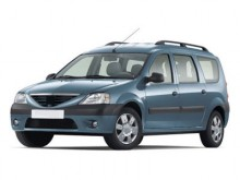 Bare longitudinale portbagaj dedicate Dacia Logan MCV model aluminiu
