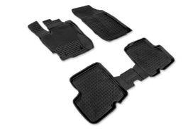 Covoare / Covorase / Presuri cauciuc tip stil tavita DACIA Duster 1 Facelift fabricatie 2013-2017