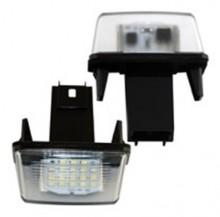 Lampa LED numar compatibila PEUGEOT 307