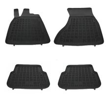 Covoare / Covorase / Presuri cauciuc tip stil tavita AUDI A6 4G C7 Sedan an 2011+