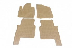 Covoare / Covorase / Presuri cauciuc tip stil tavita BEJ KIA Sorento 2 II fabricatie 2009-2012