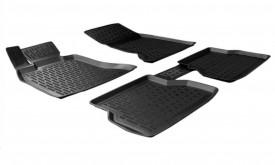 Covoare / Covorase / Presuri cauciuc tip stil tavita BMW Seria 5 E60 fabricatie 2003-2010