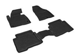 Covoare / Covorase / Presuri cauciuc tip stil tavita Hyundai Santa Fe 4 fabricatie 2018+