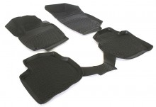 Covoare / Covorase / Presuri cauciuc tip stil tavita SKODA RAPID fabricatie de la 2012 ->