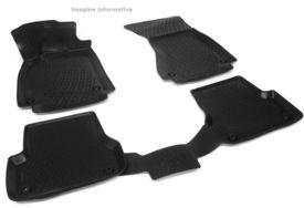 Covoare / Covorase / Presuri cauciuc tip stil tavita VW Volkswagen Touareg 3 III fabricatie de la 2018+
