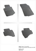 Covorase / Covoare / Presuri cauciuc CITROEN C1 fabricatie 2005-2014