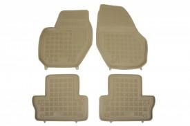 Covoare / Covorase / Presuri cauciuc tip stil tavita BEJ VOLVO V60 fabricatie 2011+