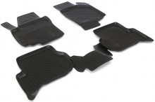 Covoare / Covorase / Presuri cauciuc tip stil tavita Volkswagen VW GOLF 5 sau 6 PLUS fabricatie de la 2004->