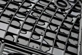 Covorase / Covoare / Presuri cauciuc OPEL VIVARO fabricatie 2001-2014 randul 3 de scaune