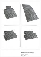 Covorase / Covoare / Presuri cauciuc RENAULT CLIO 4 IV fabricatie de la 2012->
