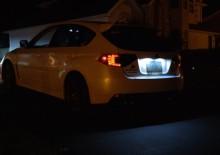 Lampa LED numar compatibila BMW Seria 6 F12 F13