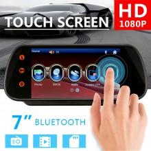 Monitor camera mers inapoi tip oglinda cu bluetooth 7 inch