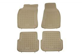 Covoare / Covorase / Presuri cauciuc tip stil tavita BEJ AUDI A6 C6 fabricatie 2004-2011