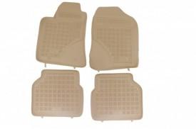 Covoare / Covorase / Presuri cauciuc tip stil tavita BEJ TOYOTA Avensis 2 2003-2009