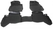 Covoare / Covorase / Presuri cauciuc tip stil tavita FORD RANGER T6 fabricatie de la 2011->