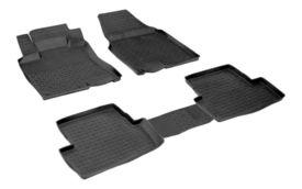 Covoare / Covorase / Presuri cauciuc tip stil tavita NISSAN Qashqai 1 fabricatie 2007-2013