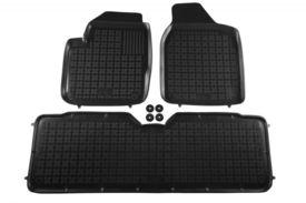 Covoare / Covorase / Presuri cauciuc tip stil tavita SEAT Alhambra 1 I fabricatie 1996-2010