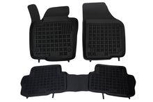 Covoare / Covorase / Presuri cauciuc tip stil tavita VW Sharan 2 II (5 locuri) fabricatie 2010+