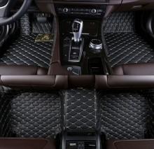 Covorase auto LUX - PIELE dedicate Mercedes C-Klasse W205 2014-> ( cusatura bej )