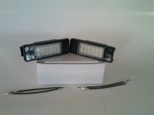 Lampa LED numar compatibila PEUGEOT 406 4D SEDAN Facelift 2000~ / Coupe
