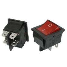 Buton electric rosu 12V