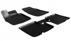 Covoare / Covorase / Presuri cauciuc tip stil tavita DACIA Sandero 1 fabricatie 2008-2013