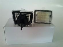 Lampa LED numar compatibila MERCEDES clasa C W204 2007–2014
