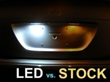 Lampa LED numar compatibila VW Touran 1T GP2 2011~