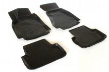 Covoare / Covorase / Presuri cauciuc tip stil tavita Audi A4 B8 fabricatie 2008-2015