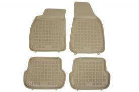 Covoare / Covorase / Presuri cauciuc tip stil tavita BEJ AUDI A4 B6 sau B7 fabricatie 2000-2007