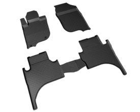 Covoare / Covorase / Presuri cauciuc tip stil tavita MITSUBISHI L200 fabricatie de la 2015+