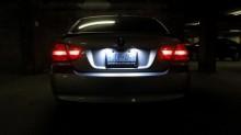 Lampa LED numar compatibila Renault Laguna 3 III 2007~