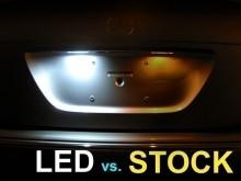 Lampa LED numar compatibila Volkswagen VW Jetta 2005~