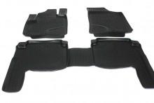 Covoare / Covorase / Presuri cauciuc tip stil tavita Hyundai Santa Fe fabricatie 2006-2012