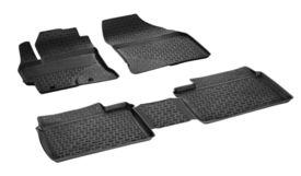 Covoare / Covorase / Presuri cauciuc tip stil tavita TOYOTA Corolla fabricatie de la 2013+