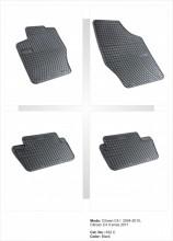 Covorase / Covoare / Presuri cauciuc CITROEN C4 II 2 fabricatie de la 2011