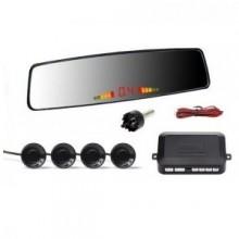 Kit 4 senzori parcare cu afisaj in oglinda