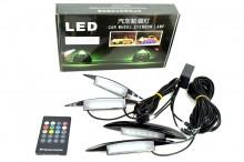 KIT iluminare aripa LED SMD RGB cu telecomanda