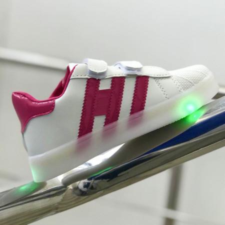 """Pantofi sport copii cu luminite """"iShopShoes"""" COD: AD-PNK-10"""