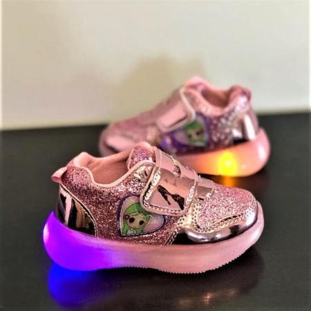 """Pantofi sport copii cu luminite """"iShopShoes"""" COD: AD-PNK2"""
