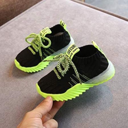 Pantofi sport copii GREEN-1BLK
