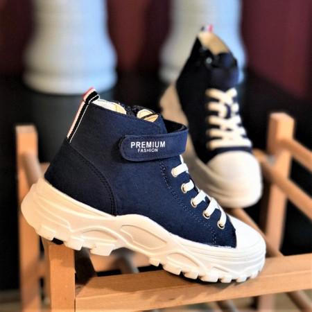 """Pantofi sport copii """"iShopShoes"""" COD: WR-BLU"""