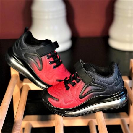 "Pantofi sport copii ""iShopShoes"" COD: G01-7 BLACK-RED"