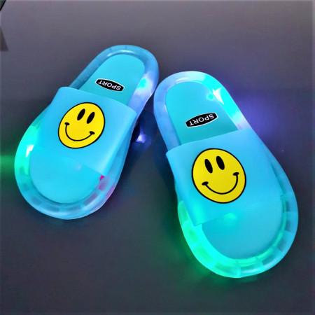 """Papuci copii cu luminite """"iShopShoes"""" COD: BLU-51"""